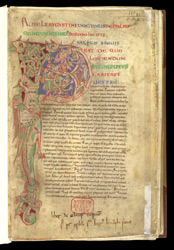 Inhabited Psalm 51 Initial, In St. Augustine's 'Commentary On Psalms 51-100'